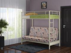 Двухъярусная кровать с диваном Мадлен. Доставка Бесплатно!