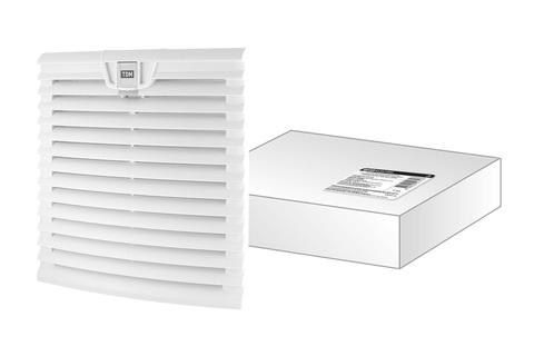 Вентиляционная решетка с фильтром для вентилятора ВФУ SQ0832-0113 (255 мм) TDM