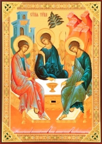 Икона Троица (Рублевская) 4