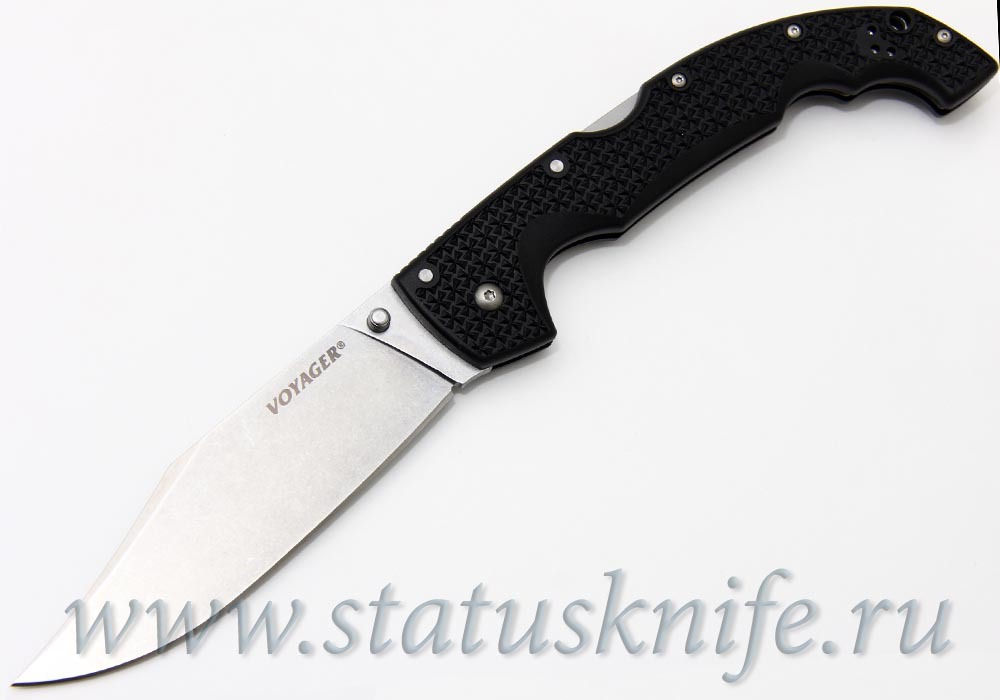 Нож Cold Steel 29TXСC Voyager Extra Large Clip Point, Plane Edge