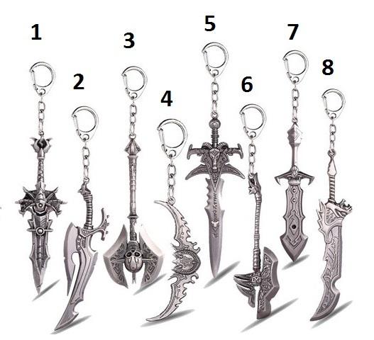 Брелок World of Warcraft Metal Keychain series 4