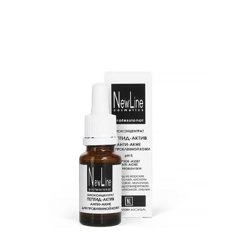 *Биоконцентрат пептид-актив анти-акне для проблемной кожи(NewLine/биоконцентрат/15мл/20308)