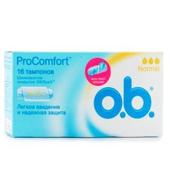 """Тампоны """"О.B."""" procomfort normal 16шт"""
