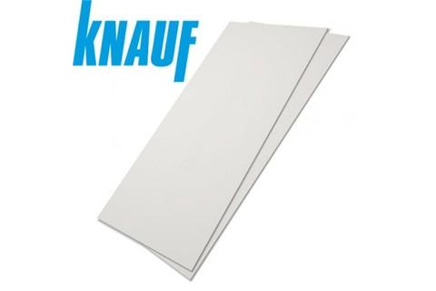 ГКЛ Кнауф 12.5 мм, Гипсокартонный лист обычный 1200х3000х12.5 мм