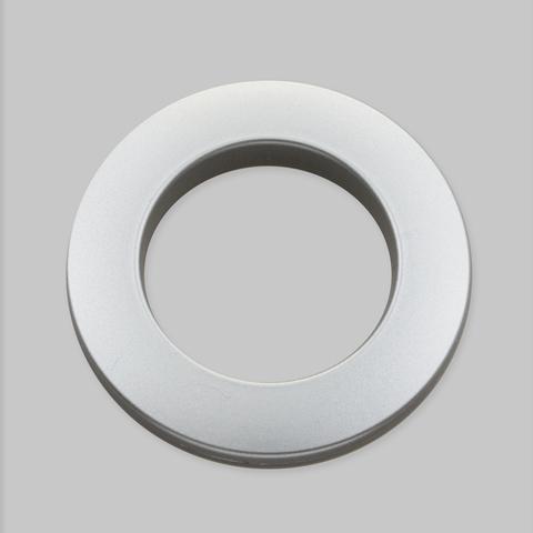 Люверсы для штор серебро матовое. D-35 см.
