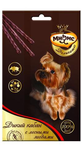 Мнямс Деликатес лакомые палочки 13,5 см для собак (с зайцем и овощами) 3х11 г