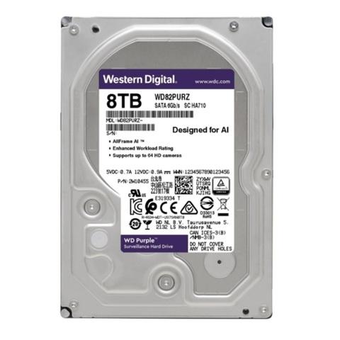 Специализированный HDD 8Tb SATA-3 Western Digital Purple