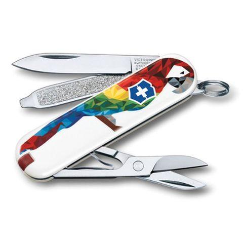 Нож перочинный Victorinox Classic LE2017 (0.6223.L1709) GuacamayaGuacamaya 58мм 78функций