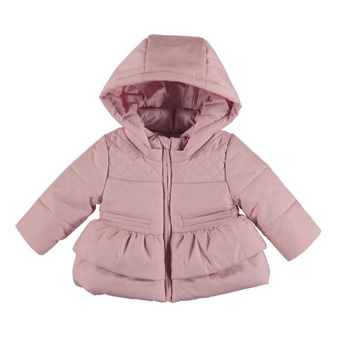Куртка Mayoral Розовая с баской