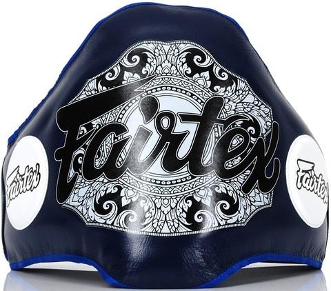 Защитный пояс тренера Fairtex Belly Pad BPV2 Blue