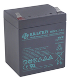 Аккумулятор для ИБП B.B.Bаttery HRC5,5-12  (12V 5.5Ah / 12В 5.5Ач) - фотография