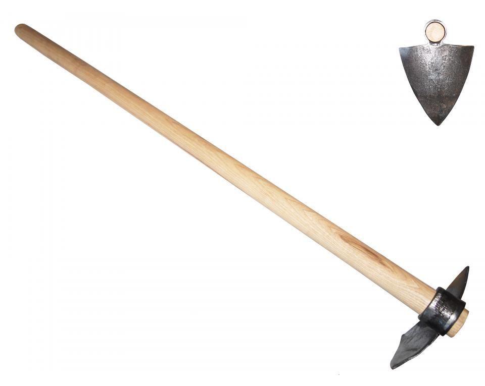 """Мотыга """"Челси"""" с круглыми зубцами DeWit рукоятка из ясеня 800мм"""