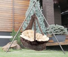 Подвесное кресло Cartagena с металлическим каркасом Майя