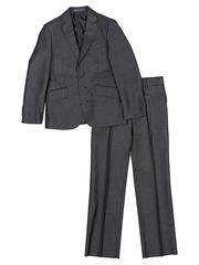 A706 костюм для мальчиков темно-серый