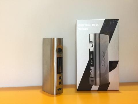 Батарейный мод kBox mini Platinum 75w by KangetTech