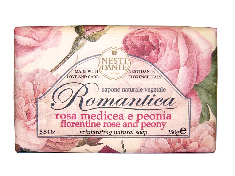 ROMANTICA Florentine Rose & Peony / Флорентийская роза и пион мыло 250 гр