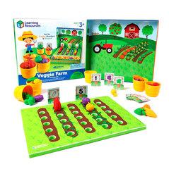 Набор для сортировки Выращиваем овощи, с карточками Learning Resources