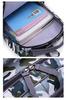 Рюкзак школьный Ziranu 1655 Красный + Пенал