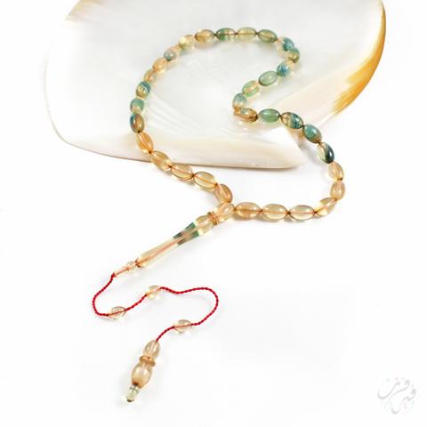 Чётки имитация янтаря (бакелит) 33 бусины