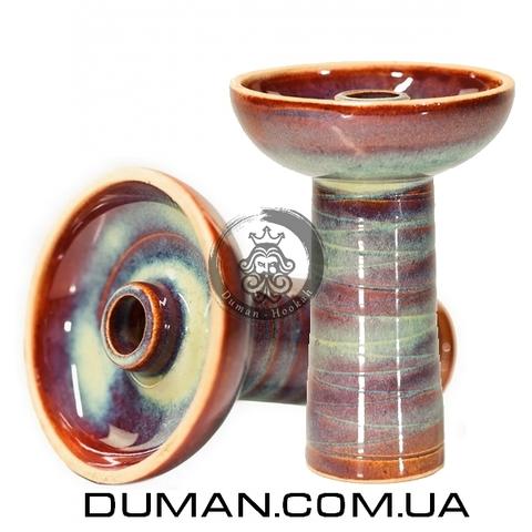 Чаша Gusto Bowls Classic Phunell Glaze II (Густо Болс Фаннел) Бирюзовый с красным