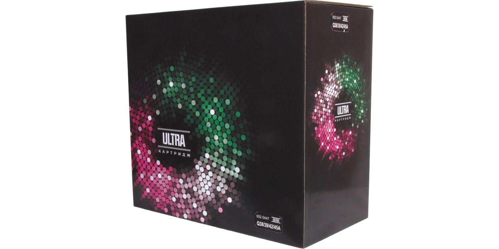 ULTRA Q1338A/Q1339A-Q5942A/Q5945A, черный, для HP