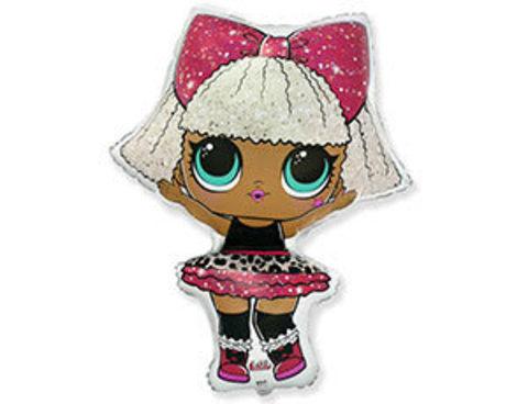 Фольгированный шар Кукла LOL DIVA