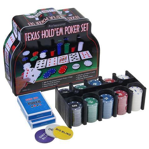 452702 Покер, набор для игры (200 фишек)