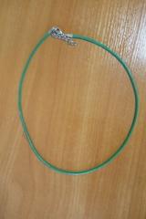 Шнурок 45 см зеленый