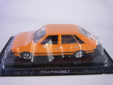 FSO Polonez orange 1:43 DeAgostini Auto Legends USSR #152