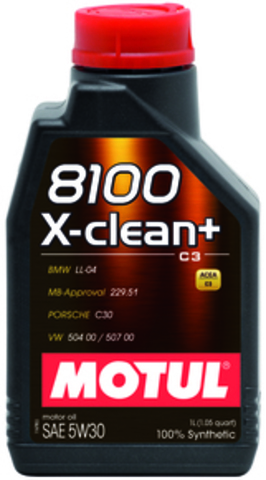 MOTUL 8100 X-clean+ 5w30 Масло моторное