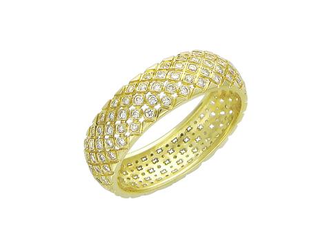 Обручальное кольцо из золота 750 пробы арт.01О640238