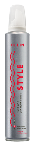 OLLIN Мусс для укладки волос сильной фиксации «OLLIN STYLE» 250мл
