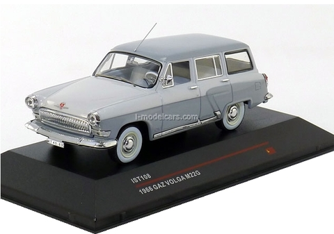 GAZ-M22G Volga export version lightgrey-white 1964 IST108 IST Models 1:43