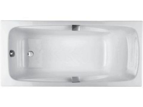 Ванна чугунная Jacob Delafon Repos 170x80 с ручками и ножками Е2915