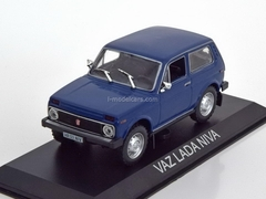 VAZ-2121 Lada Niva darkblue 1:43 DeAgostini Masini de legenda #16