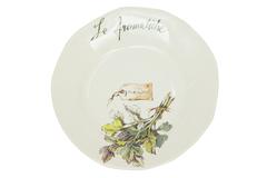 "HERBS Salad plate ( mod. SP231 ) | Тарелка для салата ""ТРАВЫ"""