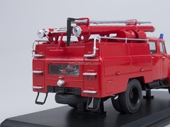 ZIL-130 AC-40 63B fire engine without stripes Start Scale Models (SSM) 1:43