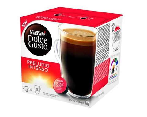 Кофе в капсулах Dolce Gusto Preludio Intenso, 16 капсул