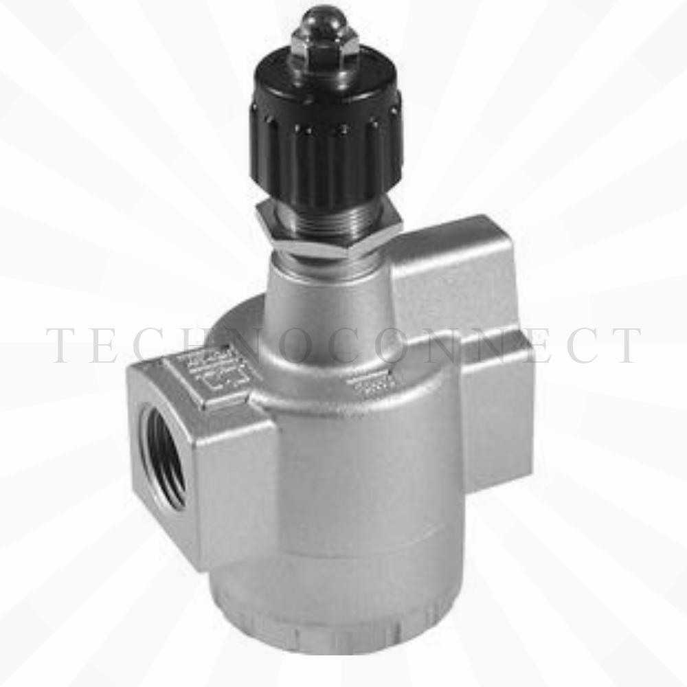 EAS420-F02  Дроссель с обратным клапаном, G1/4