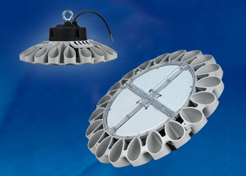 ULY-U30C-100W/NW IP65 SILVER Светильник светодиодный промышленный. Белый свет (4000K). Угол 120 градусов. TM Uniel.