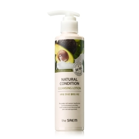 THE SAEM Natural Condition Лосьон для лица очищающий Natural Condition Cleansing Lotion 200мл