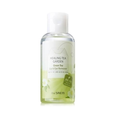 THE SAEM Garden Средство для снятия макияжа с глаз и губ Healing Tea Garden Green Tea Lip & Eye Remover 150мл