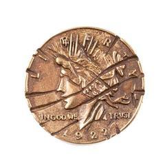 Монета Харви Дента