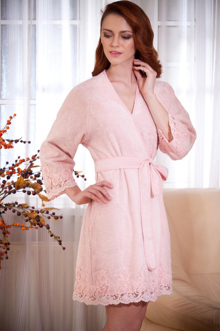 Махровые халаты LISA ЛИСА женский махровый халат Maison Dor Турция LISA.jpg