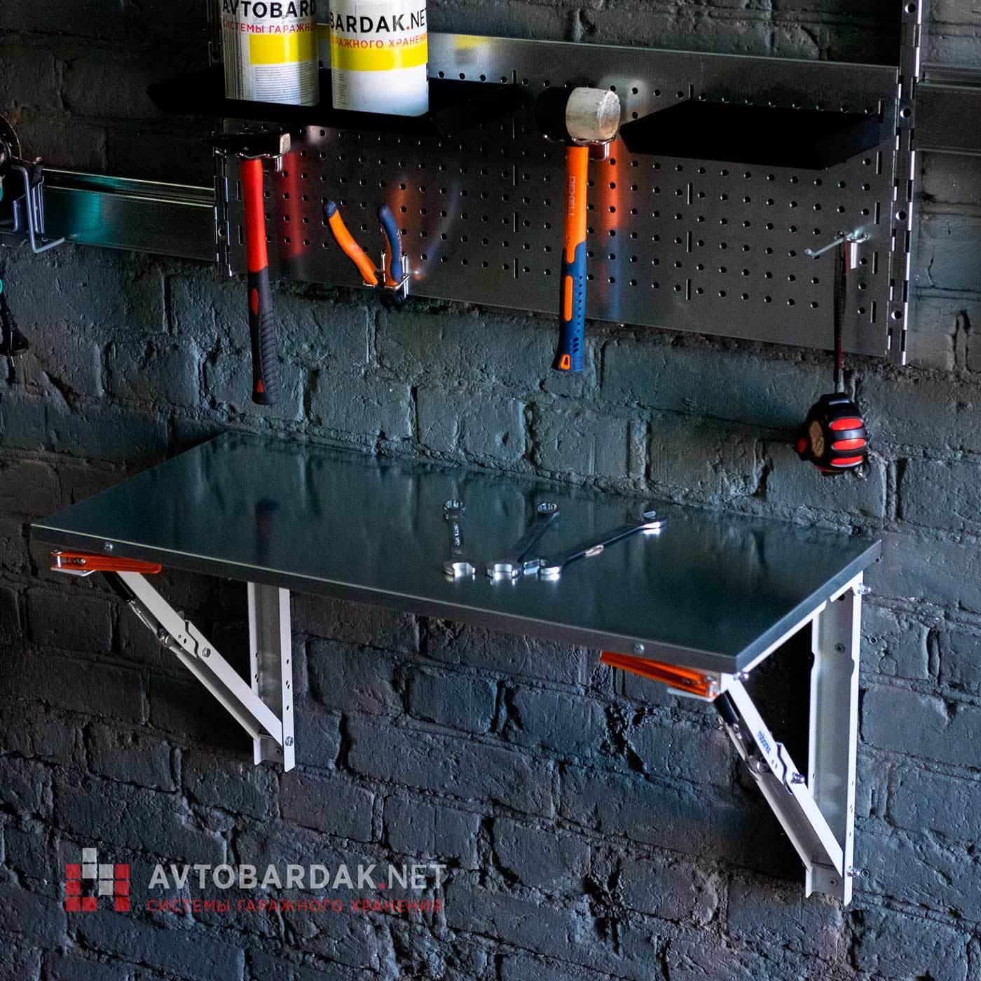 Кронштейны для откидного стола. Глубина 400—600 мм. Нагрузка 200 кг.