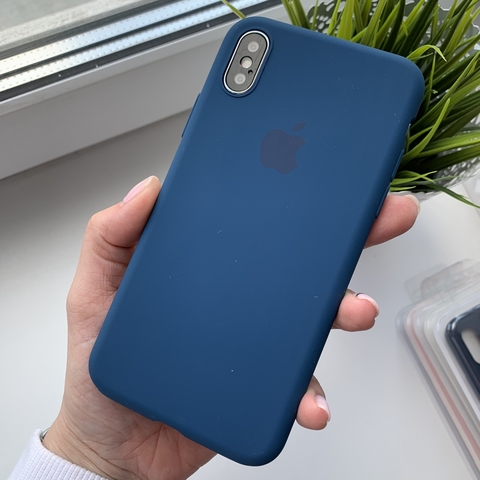 Чехол iPhone XS Max Silicone Slim Case /blue horizon/