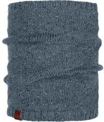 Шарф-труба вязаный с флисовой подкладкой Buff Neckwarmer Knitted Polar Arne Grey