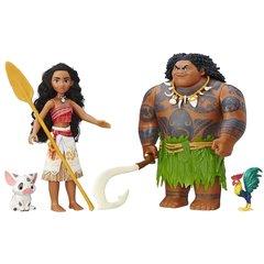 Моана и Мауи, Приключения