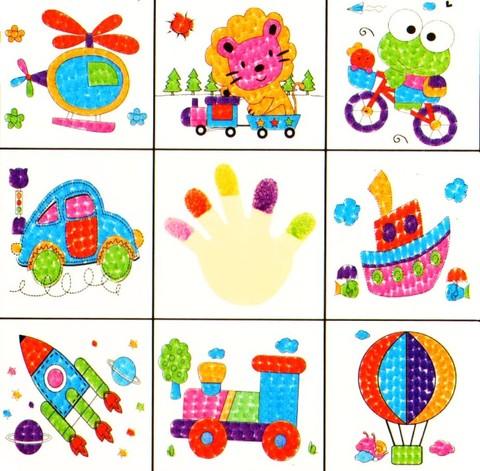 024-2365 Набор (8 шт.) для пальчикового рисования