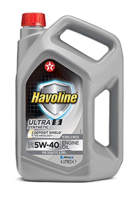 HAVOLINE ULTRA S 5W-40 моторное масло TEXACO 4 литра